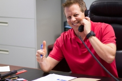 Star Van Systems Employee on the phone